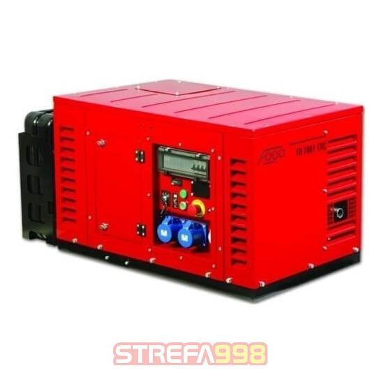 Agregat prądotwórczy FOGO FH7001ERC 5,6kW AVR