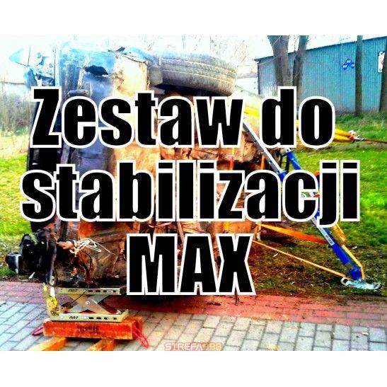 Zestaw do stabilizacji MAX - Podpory ratownicze