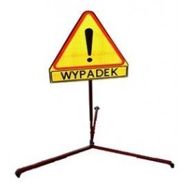 """Znak drogowy """"WYPADEK"""" na stojaku -  Znaki drogowe"""