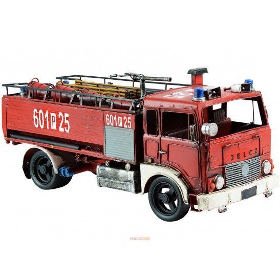Replika samochodu strażackiego JELCZ 004 GCBA 6/32 - Repliki wozów