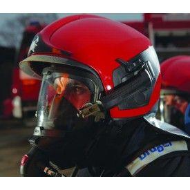 Hełm strażacki HPS 7000 STANDARD SL2 (RAL9010) -  Hełmy strażackie