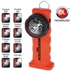 Latarka katowa NIGHTSTICK akumulatorowa czerwona XPR-5572RA