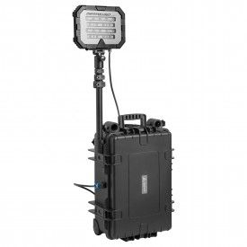 Mactronic Floodlight Single 18000 lm / 40Ah. Przenośny system oświetleniowy o dużej mocy.