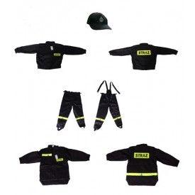 Ubranie koszarowe strażaka- tkanina RIBStop/ kamiz.z rękawami