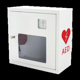 Szafka na AED ASB1011 biała z alarmem dźwiękowym -  Szafki do AED