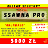 """Zestaw SPORT """"SSAWNA PRO"""" - Program 5000+ czyli 5000zł dla OSP"""