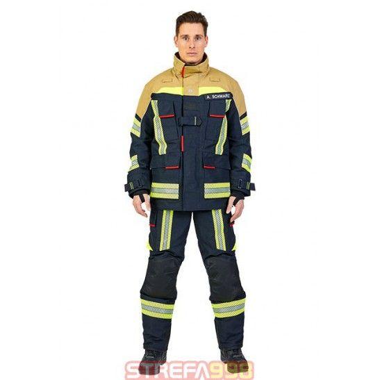 Ubranie specjalne FIRE FLEX granatowo-złoty NOMEX NXT -  Ubrania specjalne