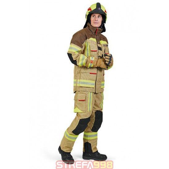Ubranie specjalne FIRE FLEX brązowo-piaskowy X55 PBI - Ubrania specjalne