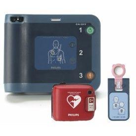 Defibrylator AED PHILIPS FRx + klucz pediatryczny