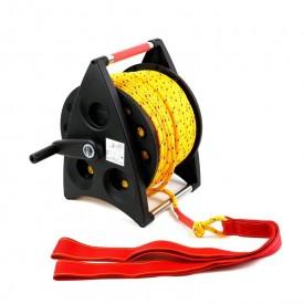 Kołowrót ratowniczy - lina średnica 10 mm - 100 m