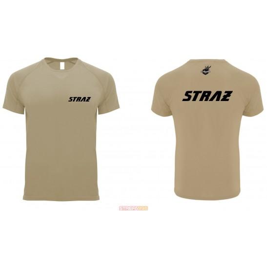 Koszulka FW SPORT - piaskowa STRAŻ -  Odzież