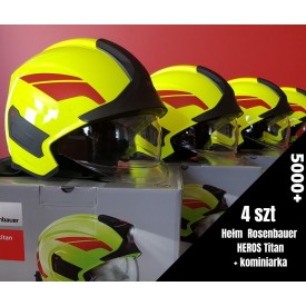 Zestaw hełmów Rosenbauer Heros Titan - 5000plus